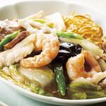 中国料理 桃李 - 五目やきそば 1人前|¥1,800(税サ込)