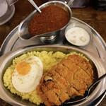 ターリー屋 - 料理写真:キーマカツカレー定食