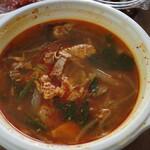 おもに - 料理写真:ユッケジャンスープ