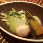 コイブミ - 夏野菜のたきあわせ
