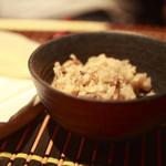 コイブミ - コースシメの炊き込みご飯