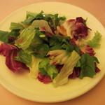 文流 - グリーンサラダにバルサミコのドレッシング