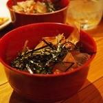 旬亭 - 〆は麺