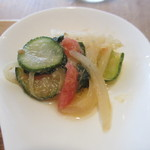 light side cafe - 野菜のイタリアンマリネ