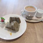 light side cafe - コーヒーとケーキ