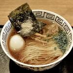 粋麺屋 - 醤油ラーメン TP味玉