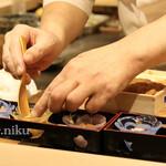 Sushiamami - 雲丹食べ比べ