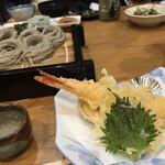 繁蔵田麦そば -