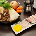 なにわの台所 いたち - 熊本天草大王の地鶏鍋