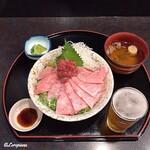 江釣子屋 - 限定3食の究極すぎる鉄火丼
