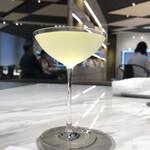 シセイドウ ザ テーブルズ - 千葉の「醍醐のしずく」という日本酒がつきます
