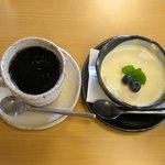 みどりの家 - 料理写真:ケーキセット(500円)