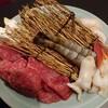 石焼すてーき菊膳 - 料理写真:ひれすてーき/魚介焼き/野菜焼