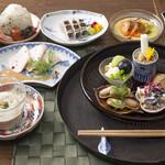 日本酒と和薬膳 ソラマメ食堂 - 季節によりそう限定薬膳コース 5000