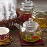 日本酒と和薬膳 ソラマメ食堂 - 薬膳茶