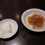 四川料理 シュン - 蕪の甘酢浸け/春雨