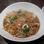 四川料理 シュン - 五目やきそば(醤油)