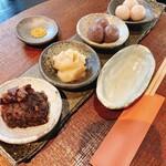 和カフェモリカ - 金胡麻入り 古代米の白玉もち