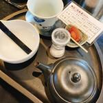和カフェモリカ - お煎茶