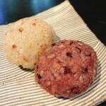 和カフェモリカ - 古代米と五穀のおはぎ