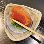 和カフェモリカ - サービスの干し柿