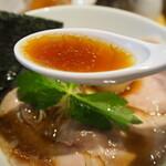 本町製麺所 阿倍野卸売工場 中華そば工房 - 中華そばプライム(スープ)