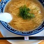 らぁ麺屋まるみ - 塩らぁ麺¥530