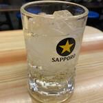 いづみや - ドリンク写真:ハイボール350円(1杯目)