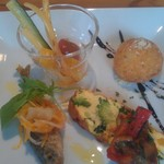 Kitchen GOOD!! - ランチコースの前菜