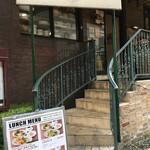 ラ ココリコ - 入り口の階段
