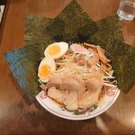 Toukyouramenrairaidou - 醤油らーめん\750 得盛\350トッピング(20-10)