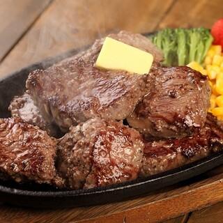 当店一番人気の『Texasステーキ』