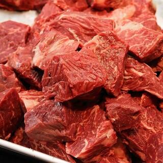 赤身が旨い、上質な肉!