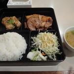 シャモニーモンブラン - 日替りタイムランチ(味噌汁付き)