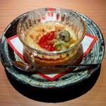 13897709 - 海老芋豆乳クリーム チリソース蕗の薹