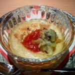 13897711 - 海老芋豆乳クリーム チリソース蕗の薹