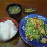 奄美 沖縄料理 しまん人 - ゴーヤチャンプル