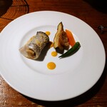 MOKICHI TRATTORIA - 太刀魚の ベッカフィーコ