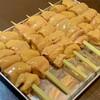鳥勇 - 料理写真:白肝、黄肝、親肝