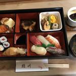 鮨川 - 料理写真:寿司定食=1000円 税込