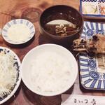 138977802 - 大海老フライと一口ヒレカツ定食