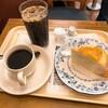 ドトールコーヒーショップ - 料理写真:安納芋のミルクレープ、アイスコーヒーS、ブレンドコーヒー