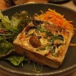 ローズベーカリー - キッシュと2種類の野菜