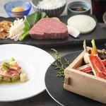 日本料理 しゃぶしゃぶ 鉄板焼 有馬 - 2020.12-2「ふぐ蟹ステーキ」