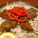 元祖くじら屋 - 鯨肉インド焼き