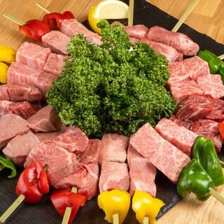 【2時間飲み放題】肉宴会を楽しめるコースは全8品4500円