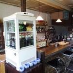 Cafe & Bar cheka - カウンター