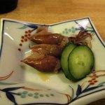 鮨よねき - ひいかの酢味噌あえ