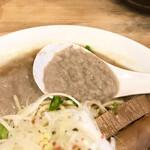 139001497 - レンゲですくったスープ