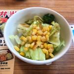 藤一番 - +100円サラダ